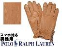 ショッピンググローブ ポロ ラルフローレン ディアスキン サイドジップ グローブ 男性用 POLO RALPH LAUREN PG0048 メンズ 手袋 ライトブラウン (01-21238982)