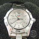 TAG HEUER【タグホイヤー】 WAF1412 アクアレーサー クオーツウォッチ 腕時計 ステンレススチール レディース 【中古】