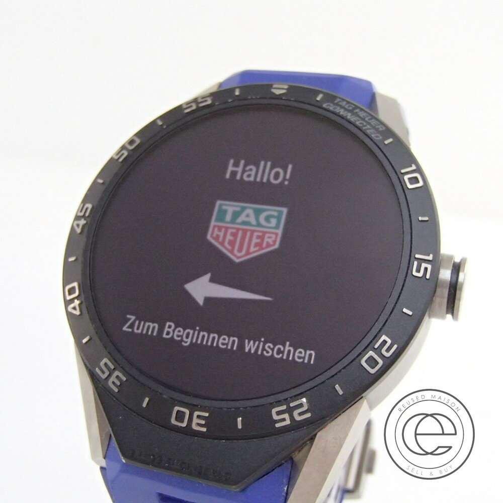 TAG HEUER【タグホイヤー】 SAR8A80.FT6045 TAG Heuer Connected コネクテッドスマートウォッチ 腕時計 メンズ 【】