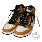 NIKE ナイキ 555088-700 AIR JORDAN 1 RETRO HIGH OG ROOKIE OF THE YEAR エアジョーダン1レトロハイオージー スニーカー 27.5 GOLDEN HARVEST/BLACK-SAIL メンズ