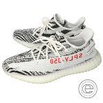 adidas アディダス ×KANYE WESTカニエウエストCP9654 YEEZY BOOST 350 V2 Zebra ゼブラスニーカー/ シューズ 28.0 White/Core Black-Red メンズ