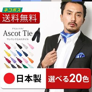 アスコット スカーフ おしゃれ ネクタイ パーティ