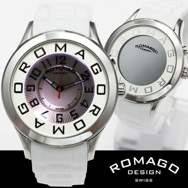 腕時計 メンズ レディース ブランド ポイント10倍 1年保証 正規 ROMAGO ロマゴ ATTRACTION ミラー文字盤 ビッグフェイス腕時計 BOX 保証書付 10P03Dec16 TOPページに割引クーポンをご用意! EXILE 西内まりあ 愛用ブランド メンズ 腕時計 レディース 腕時計