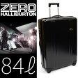 送料無料 ZERO HALLIBURTON ゼロ ハリバートン スーツケース 84リットル サイズ ブラック キャリーケース 旅行バッグ 10P18Jun16