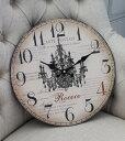 フランスから届いたお洒落な掛け時計・シャンデリア 【SOPAFRA】 掛け時計 フレンチ雑貨 フレンチカントリー アンティーク風 カフェ風