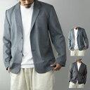 ジャケット テーラードジャケット メンズ セットアップ 春 コーデ ビジネス 夏 無地 シングル カジュアル アウター グレー チャコール