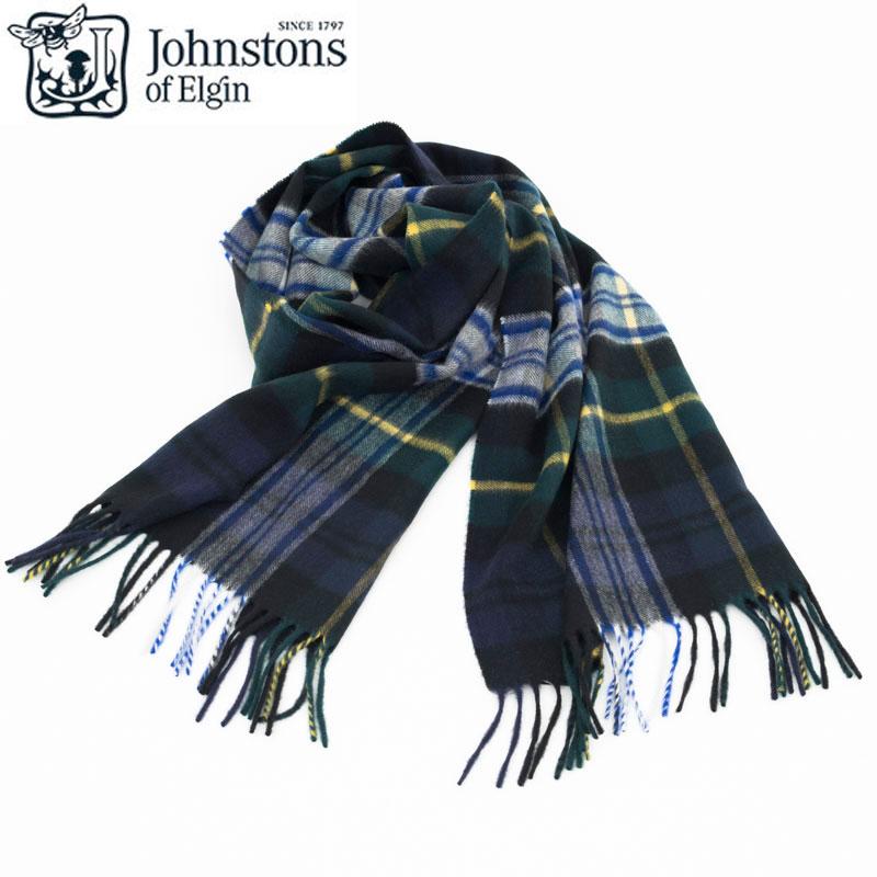 Johnstons|ジョンストンズ Dress Gordon カシミア マフラー ストール