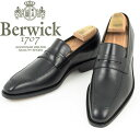 Berwick1707|バーウィック モカステッチ セミロングノーズ レザーソール グッドイヤ
