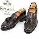 Berwick1707|バーウィック 4340-Dainite Sole D.BROWN タッセル ダイナイトソール ローファー