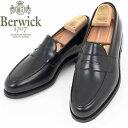 Berwick1707 バーウィック 9628-ROIS NEGRO 【BLACK】コインローファー ダイナイトソール レザー ローファー