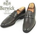 Berwick1707|バーウィック U字モカ縫い コインローファー グッドイヤーウエルト製法