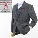 楽天Style EditionStyle Edition|スタイルエディション Harris Tweed ハリスツイード グレー ヘリンボーン 2ボタン ジャケット