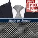 楽天Style EditionStyle Edition|スタイルエディション イタリー製シルク生地使用 グレンチェック グレー ネクタイ