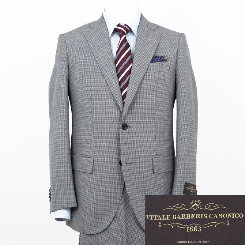 Style Edition スタイルエディション VITALE BARBERIS CANONICO 千鳥ピンチェック スーツ