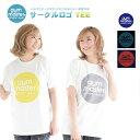 ジムマスター Tシャツ 半袖 サークルロゴTee tシャツ プリント 半袖 ホワイト メンズ レディース ユニ S M L LL
