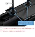 【送料無料】THULE(スーリー) CX-5専用ベースキャリア(フット753+ウイングバー961+キット3069)+ルーフボックス ツーリング Sport グロ...
