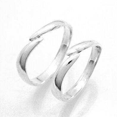 【2本セット価格 プラチナ900】 スッキリデザイン プラチナPt900ペア・マリッジリング2本セット Crescent 【STYLERINGオリジナル結婚指輪】【楽ギフ_包装】【楽ギフ_名入れ】