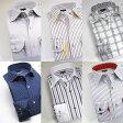 【送料無料/柄選択有 L】国産長袖メンズドレスシャツ 綿100 スリムフィットメンズ fs3gm