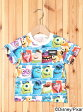 X-girl Stages MONSTERS UNIVERSITY S/S TEE(2T~3T) エックスガールステージス カットソー【RBA_S】【送料無料】