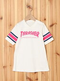X-girl Stages Thrasher/FOOTBALL DRESS(12M~3T) エックスガールステージス【送料無料】