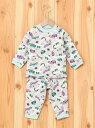 Combi mini あったかのびのび腹巻付きパジャマ(サーキット) コンビミニ ファッショングッズ