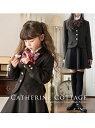 Catherine Cottage (K)バックリボン刺繍スーツ4点セット キャサリンコテージ コート/ジャケット【送料無料】