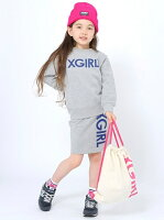 【SALE/40%OFF】X-girl Stages XGS STREET STYLE SET エックスガールステージス ワンピース【RBA_S】【RBA_E】【送料無料】