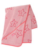 """X-girl Stages """"STAR""""TERRY CLOTH AFGHAN エックスガールステージス【送料無料】"""