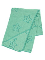 """STAR""TERRY_CLOTH_AFGHAN_GREEN"