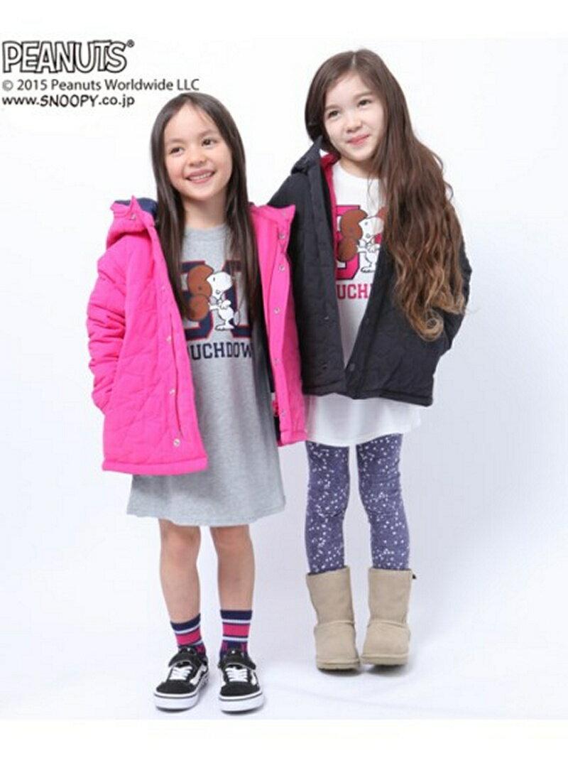 【送料無料】【40%OFF】X-girl Stages STAR QUILTED COAT エックスガールステージス コート/ジャケット【RBA_S】【RBA_E】