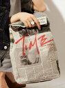 MATATABI *Paper Bakery Clutch Bag トーキング アバウト ジ アブストラクション バッグ【RBA_S】【送料無料】