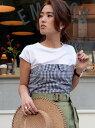 【SALE/70%OFF】UNRELISH ビスチェ付Tシャツ アンレリッシュ カットソー【RBA_S】【RBA_E】