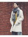 【SALE/50%OFF】SHARE PARK フェイクムートン ノーカラー コート シェアパーク コート/ジャケット ムートンコート ベージュ グレー【送料無料】