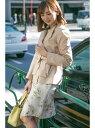 【SALE/60%OFF】PROPORTION BODY DRESSING ショートトレンチコート プロポーションボディドレッシング コート/ジャケット【RBA_S】【R..