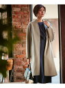 【SALE/30%OFF】ICB Wool Rever ノーカラーコート アイシービー コート/ジャケット【RBA_S】【RBA_E】【送料無料】
