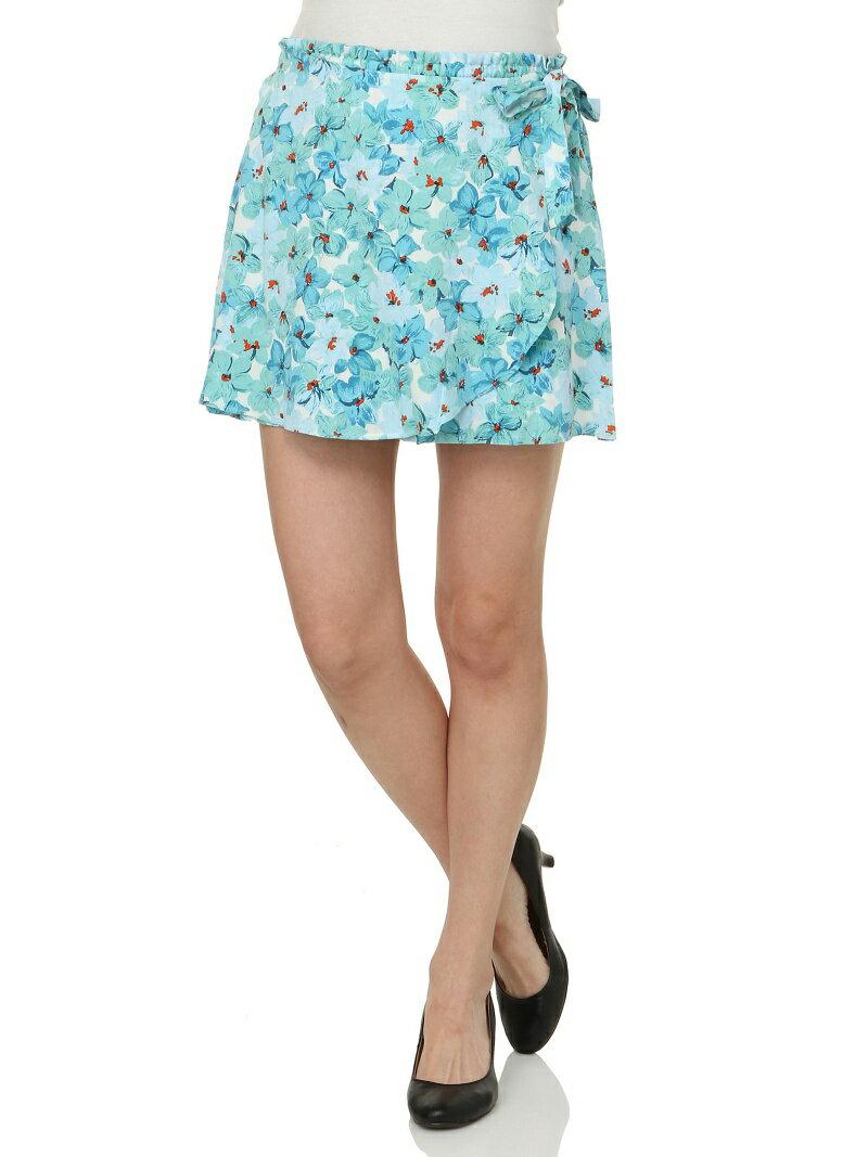 【SALE/90%OFF】Vert Dense デザイン花柄ショートパンツ ブランドアベニュー アウトレット パンツ/ジーンズ【RBA_S】【RBA_E】