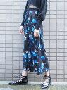EMODA Draw Flowerワイドパンツ エモダ【送料無料】