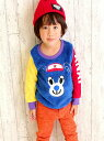 【SALE/50%OFF】ANAP KIDS KIDS キャラボアトレーナー アナップ カットソー【RBA_S】【RBA_E】