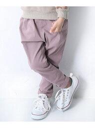 devirock ウルトラストレッチタックパンツ 男の子 女の子 ベビー ボトムス ズボン <strong>デビロックストア</strong> 子供服 キッズ デビロック パンツ/ジーンズ パンツその他 パープル ピンク オレンジ ベージュ ブラウン
