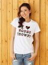 【SALE/16%OFF】RODEO CROWNS I LOVE RCS BIG Tシャツ ロデオクラウンズワイドボウル カットソー【RBA_S】【RBA_E】