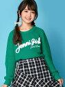 JENNI love JENNI love/サガラロゴ刺繍ニット ジェニィ カットソー【送料無料】