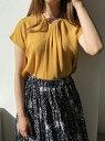 【SALE/50%OFF】MEW'S REFINED CLOTHES ボウタイデザインブラウス ミューズ リファインド クローズ シャツ/ブラウス シャツ/ブラウスその他 イエロー ホワイト ネイビー