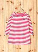 X-girl Stages STRIPED L/S DRESS(12M,2T) エックスガールステージス【送料無料】