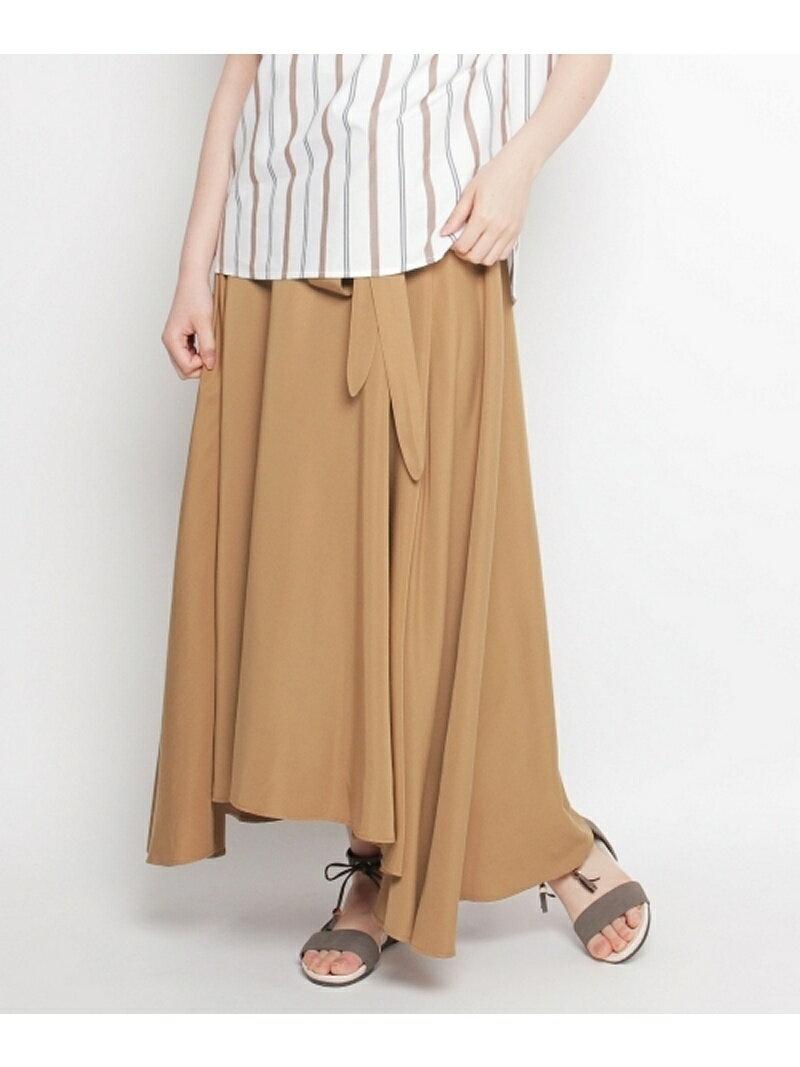【SALE/30%OFF】Dessin(Ladies) アシンメトリーサッシュスカート デッサン スカート【RBA_S】【RBA_E】【送料無料】