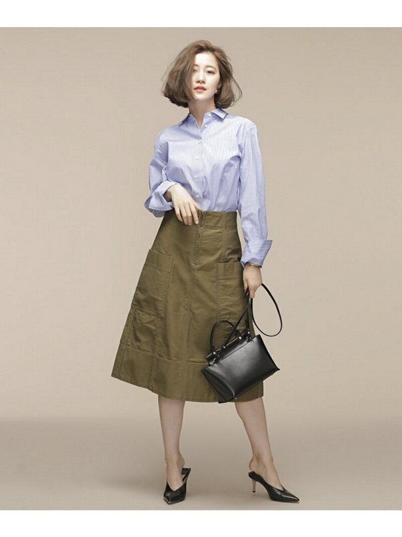 【SALE/60%OFF】nano・universe Aラインポケットスカート ナノユニバース スカート【RBA_S】【RBA_E】【送料無料】