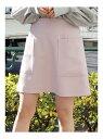 【SALE/84%OFF】dazzlin ポケット台形ミニスカート ダズリン スカート フレアスカート ピンク グレー ネイビー ベージュ