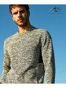 JOSEPH ABBOUD 【JOSEPHABBOUDMOUNTAIN】ランダムスラブリップカットソー(UNISEX) ジョセフアブード カットソー Tシャツ グレー ブラウン【送料無料】