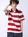 【SALE/40%OFF】TOMMY HILFIGER (M)BLOCK STP POLO S/S RF トミーヒルフィガー カットソー【RBA_S】【RBA_...