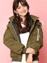 JENNI love JENNI love/カラーファー中綿ブルゾン ジェニィ コート/ジャケット【送料無料】