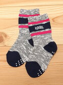 X-girl Stages LINE MIX SOCKS エックスガールステージス